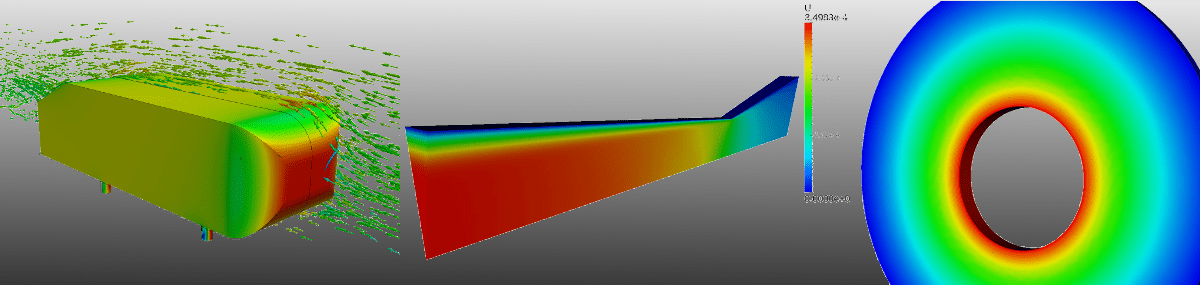 Validation projects with SimScale