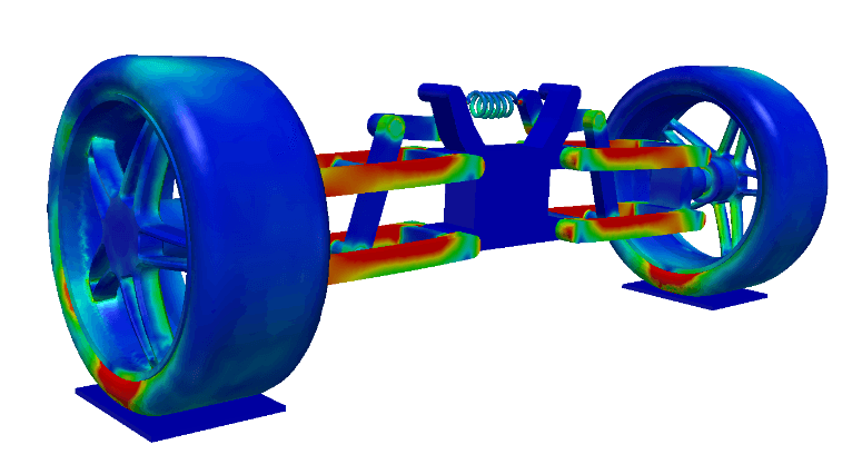 Structural Analysis of Car Suspension System