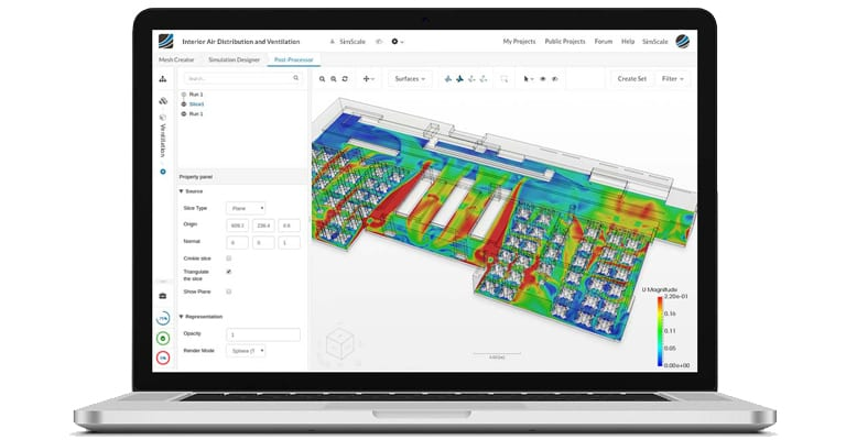 engineering simulation SimScale free CFD software for engineering consultants