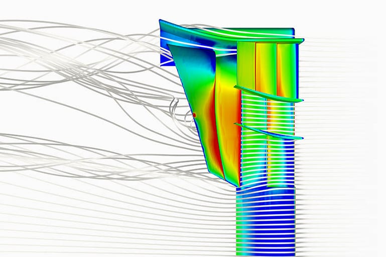 F1 Front Wing CFD Analysis with SimScale