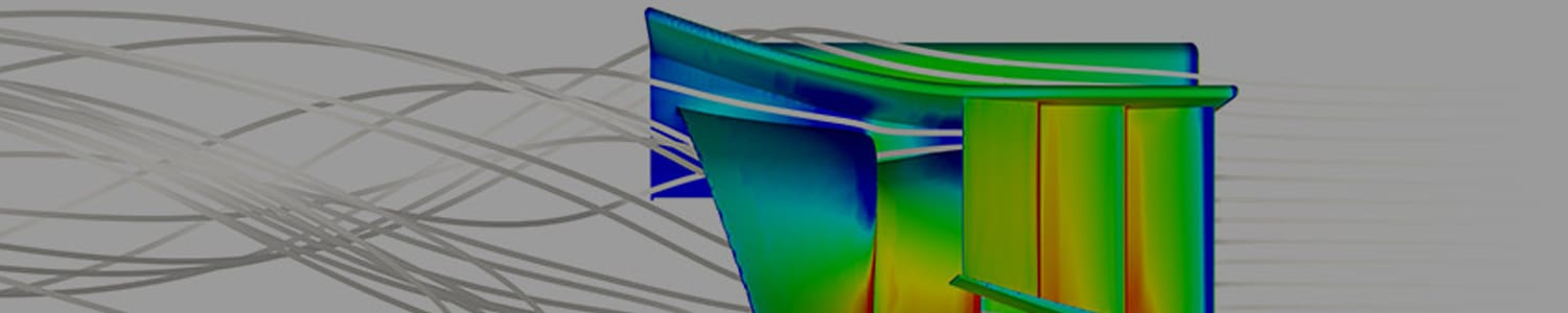 front wing CFD analysis of F1 car, airflow