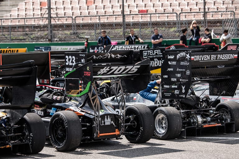 Formula Student cars competition