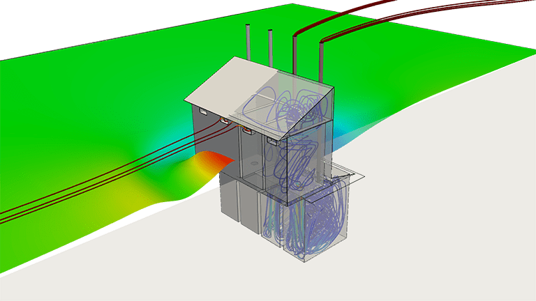 Simulation of a VIP latrine with SimScale