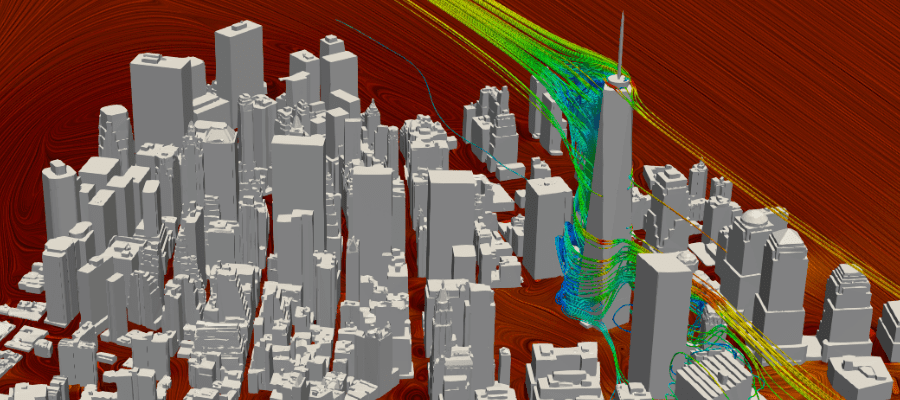 wind engineering with SimScale