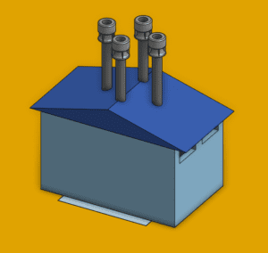 cad model in simscale