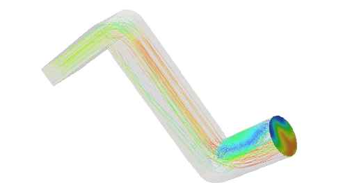 Flow Optimization of a Duct Design with CFD Simulation