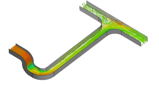 duct design cfd simulation