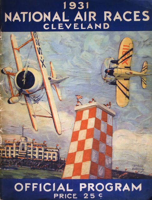 national air race poster for homemade aircrafts