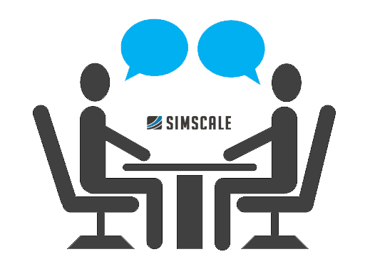 international recruiting onsite day with simscale