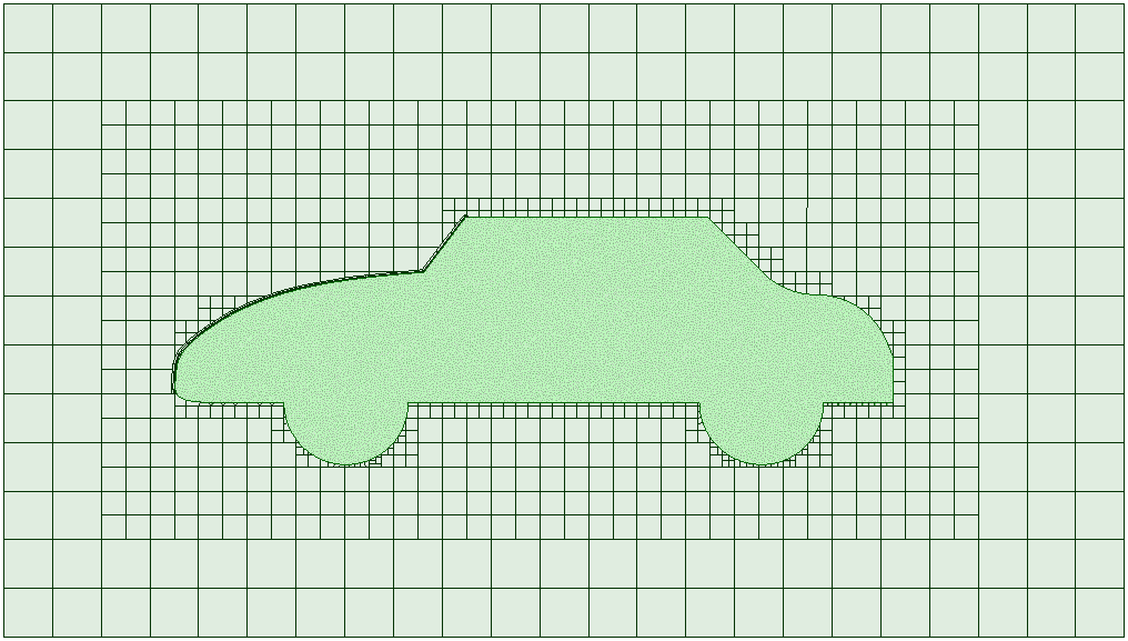 Layer addition in the snappyHexMesh meshing process