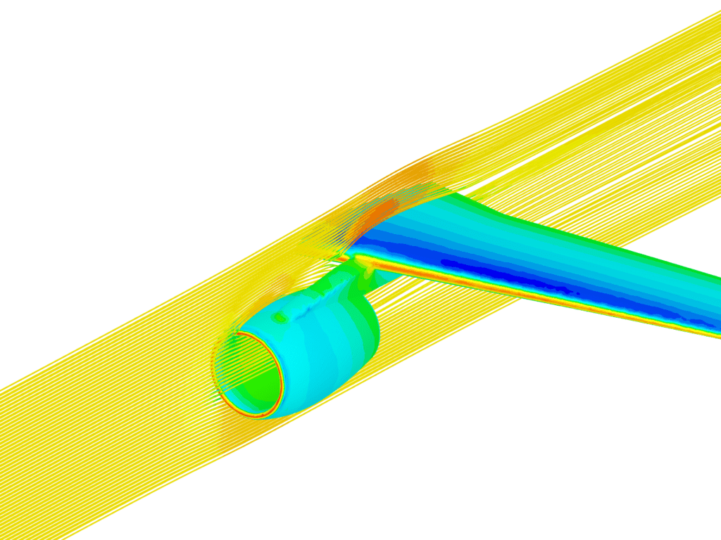 post-processing wing compressible simulations