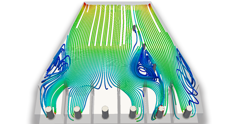 the future of cloud computing cfd simulation post processing results from simscale platform created by cfd engineer