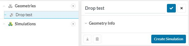 creating a dynamic analysis type for a geometry