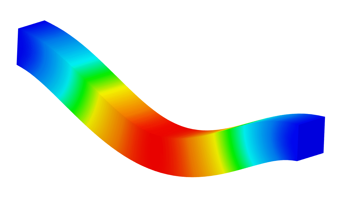 straight beam simscale results