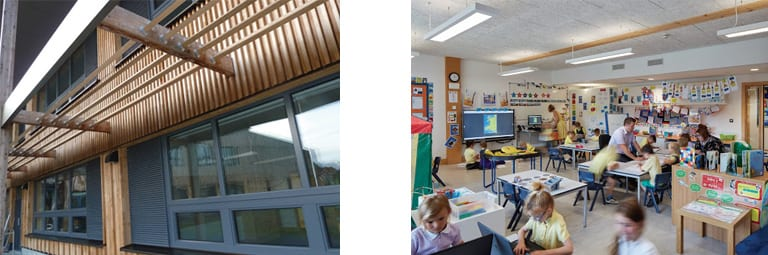 passivhaus classroom simulated in cad form using simscale cfd