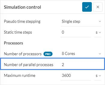 reduce the number of parallel processe