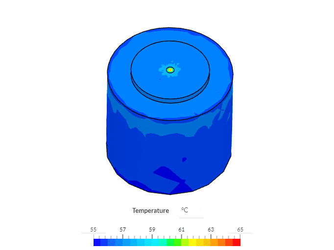 validation case screenshot simscale