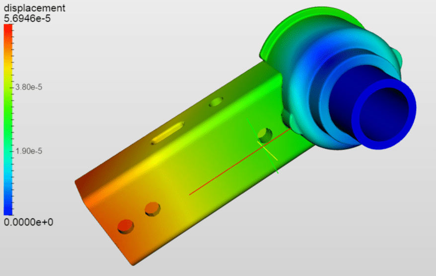 ISOfix connector - simulation on SimScale