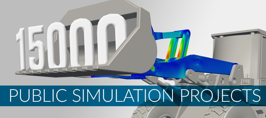 15000 Public Simulation Projects on SimScale