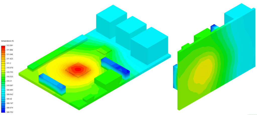 simulation results modeled as anisotropic in simscale post processer
